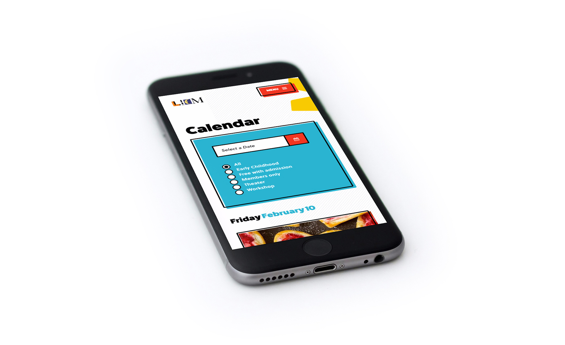 LICM calendar on iphone